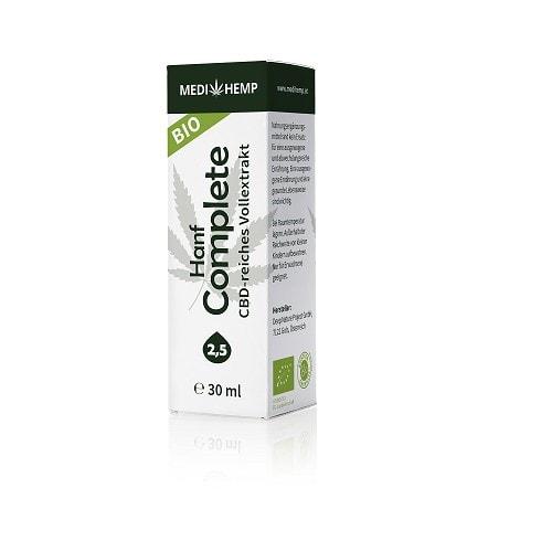 Medihemp-Bio-Hanf-Complete-2,5-CBD-Öl-bewertung