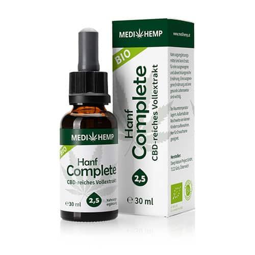 Medihemp-Bio-Hanf-Complete-2,5-CBD-Öl-bewerten