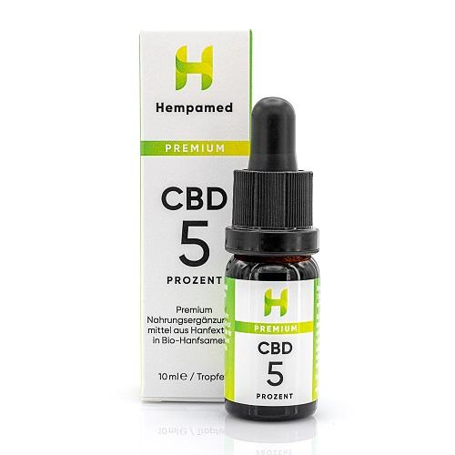 Hempamed 5% CBD Öl