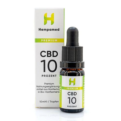 Hempamed 10% CBD Öl