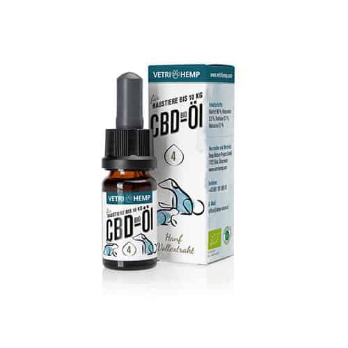 Vetrihemp Bio CBD für Tiere 4% CBD Öl