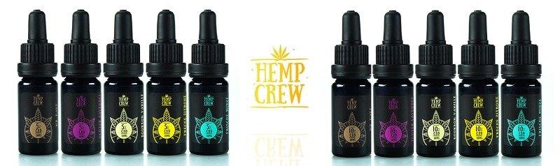 HempCrew 5% CBD Öl