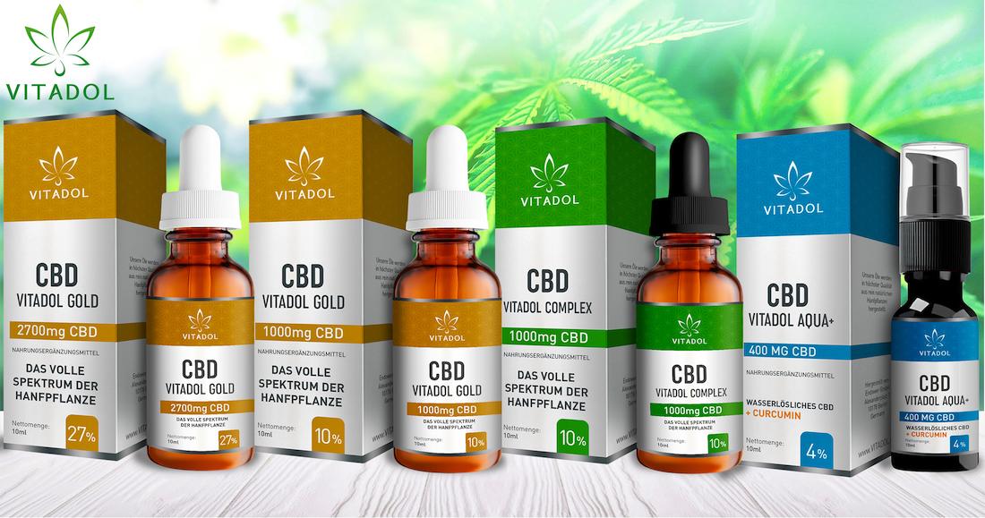 Vitadol Complex 10% CBD Öl
