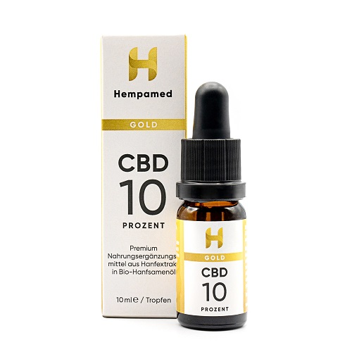 Hempamed Gold 10% CBD Öl
