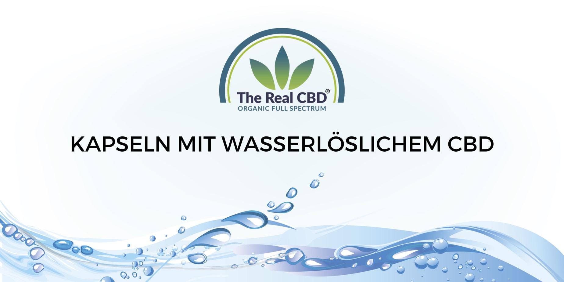 The Real CBD 7,5mg wasserlösliche CBD Kapseln