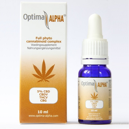 OptimaALPHA 5% cannabinoid complex oil