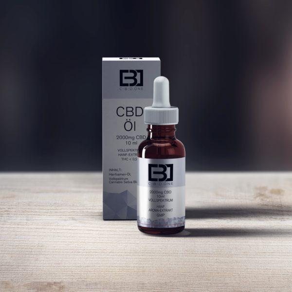 CBD One 20% CBD Öl