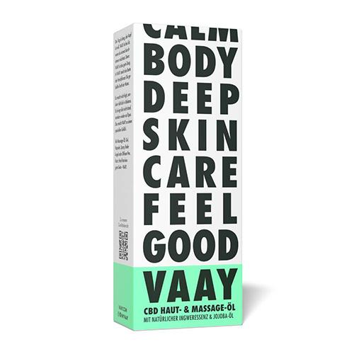 VAAY CBD Haut & Massage-Öl