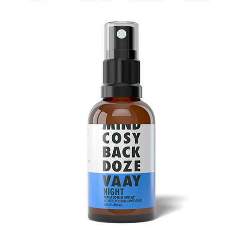 VAAY Night Melatonin Spray