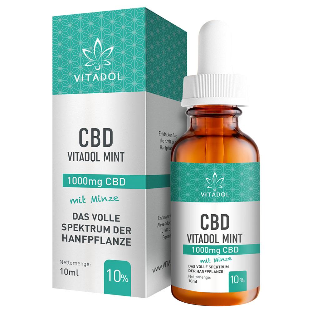 Vitadol Mint 10% CBD Öl