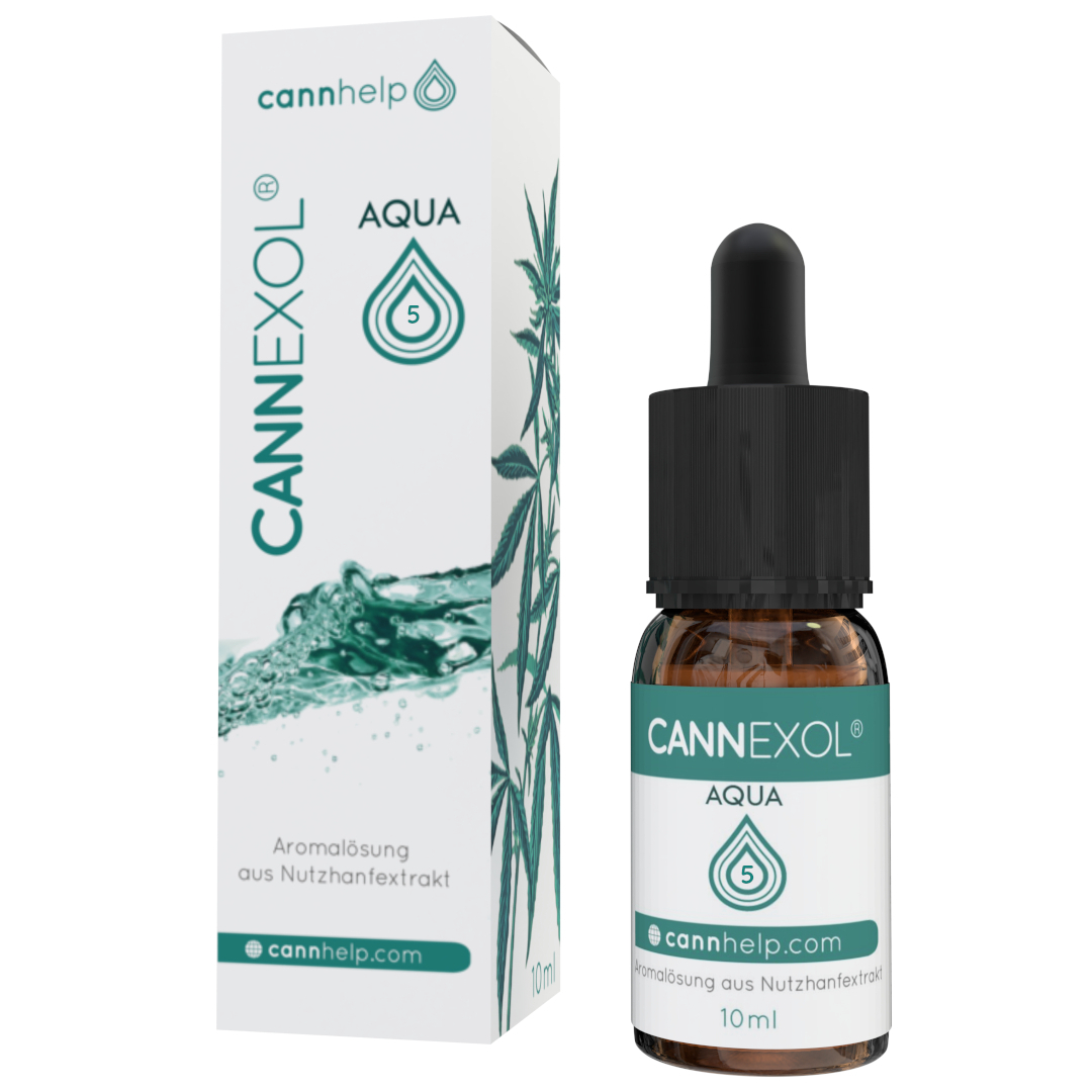 Cannhelp Cannexol Aqua 5% wasserlösliches CBD