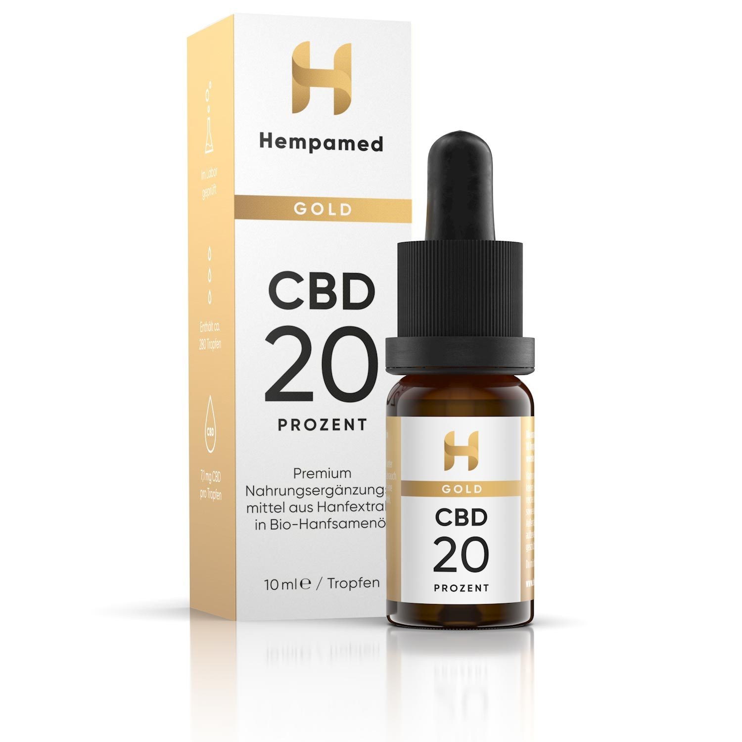 Hempamed Gold 20 % CBD Öl