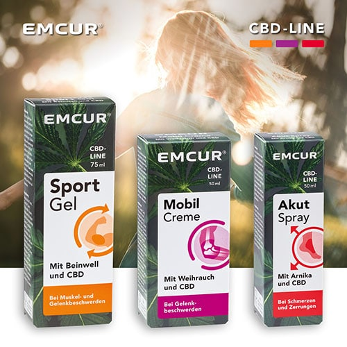 Emcur Produkte Kosmetik mit CBD