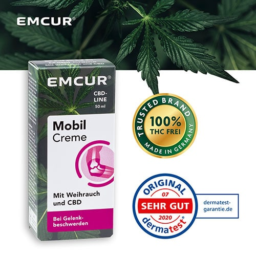 Cannabidiol Mobil Creme von EMCUR