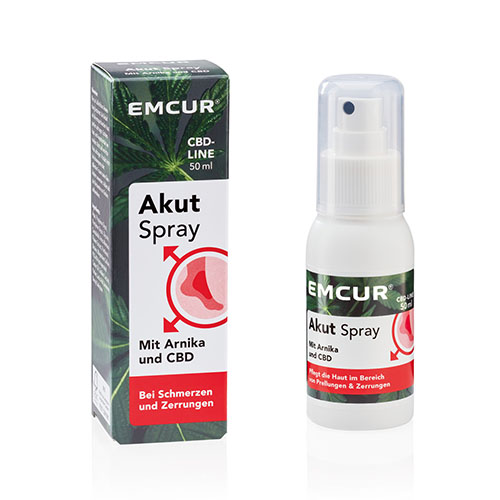 Emcur Akut Arnika Spray mit CBD