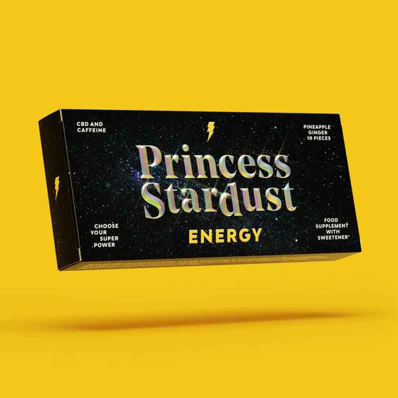 Princess Stardust Verpackung Energy