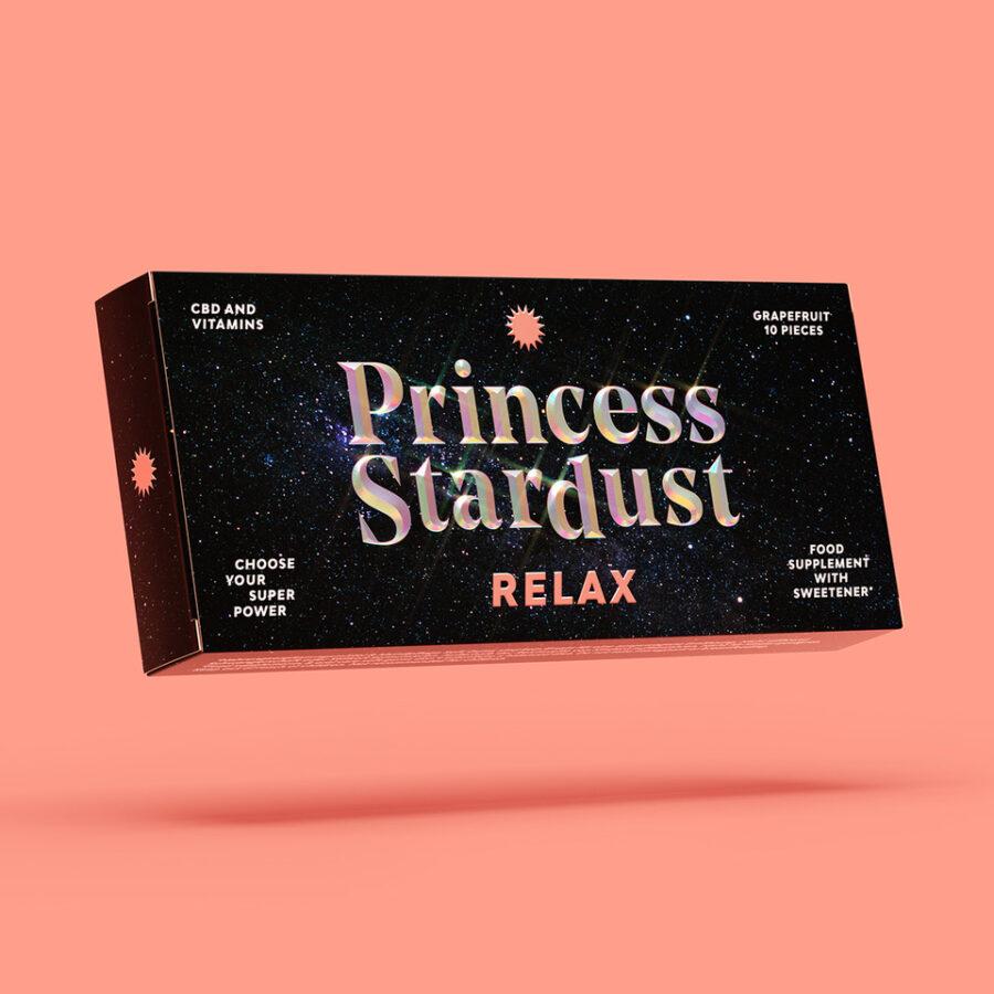 princess stardust cbd soft gum relax